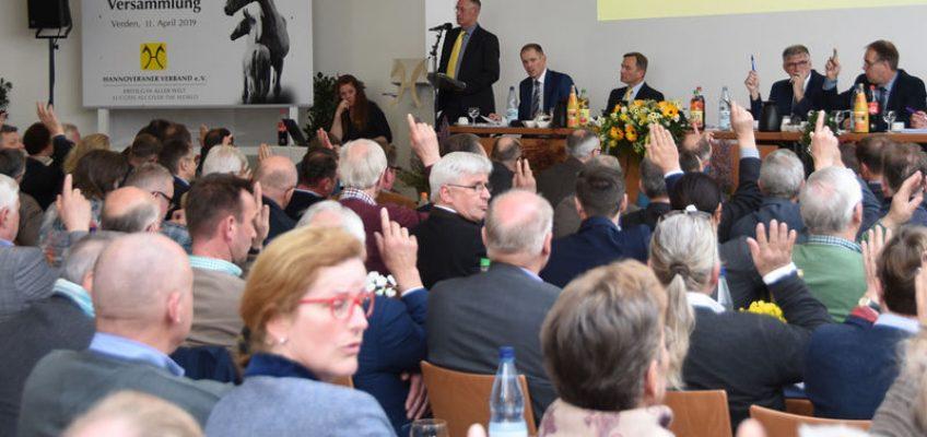 Zustimmung zur Strukturreform des Hannoveraner Verbands