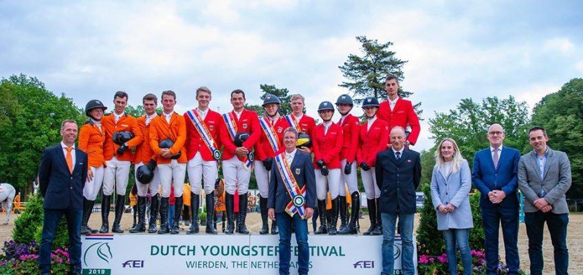 Deutsche U21 Springreiter gewinnen Nationenpreis in Wierden!