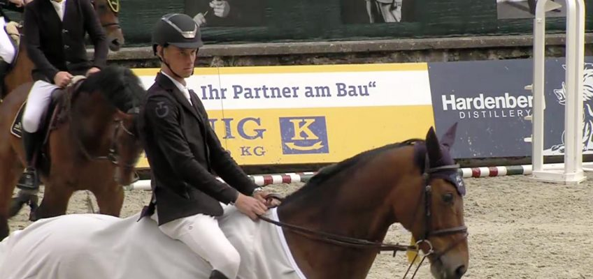 Kevin Jochems siegt im Eröffnungsspringen von Nörten-Hardenberg