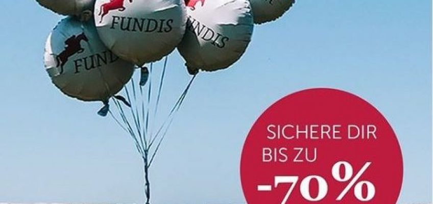 Celebrations Days mit tollen Angeboten bei FUNDIS!