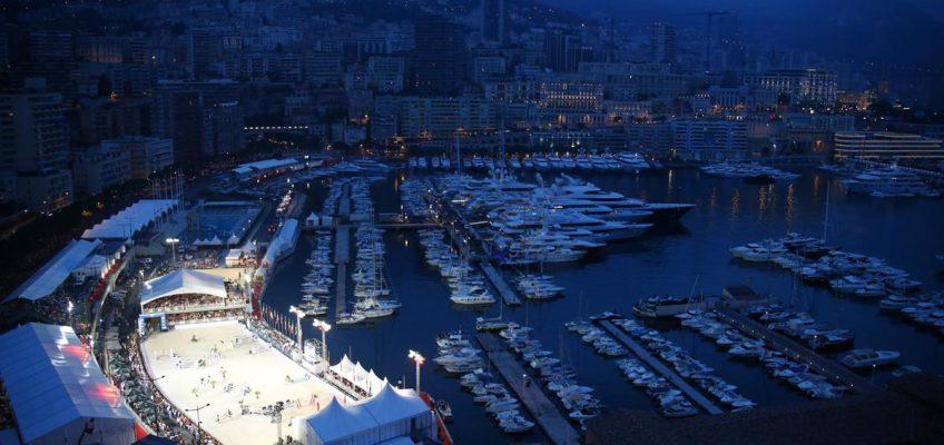 Deutsche Kavalkade auf dem Weg nach Monaco