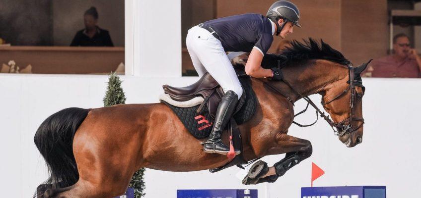 Toni Haßmann Zweiter im Samstag-Hauptspringen von St. Tropez
