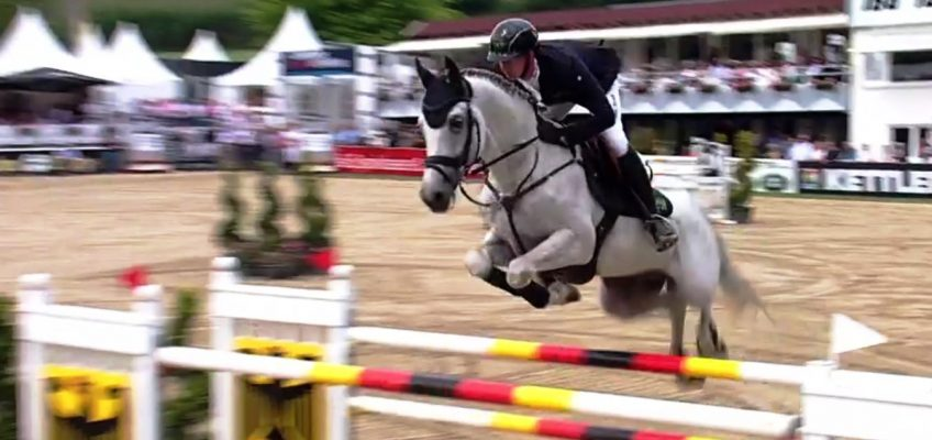 Flying Felix Haßmann nach Stechen mit Jan Wernke Deutscher Meister