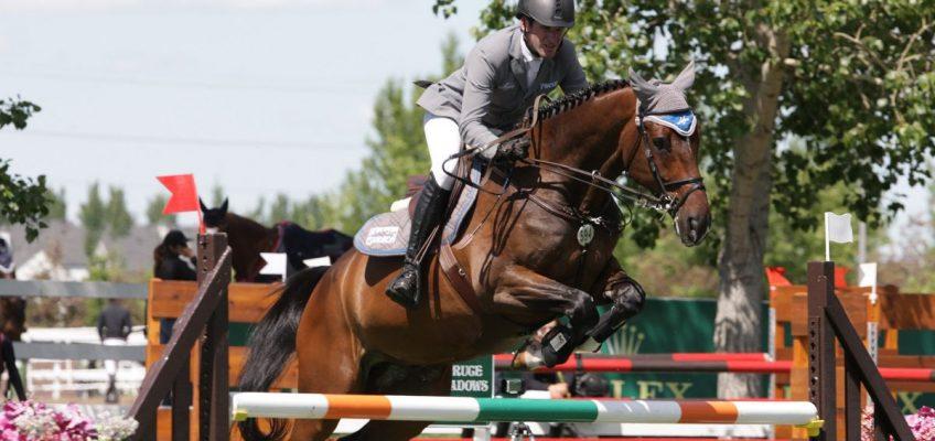Philipp Weishaupt gewinnt in Spruce Meadows
