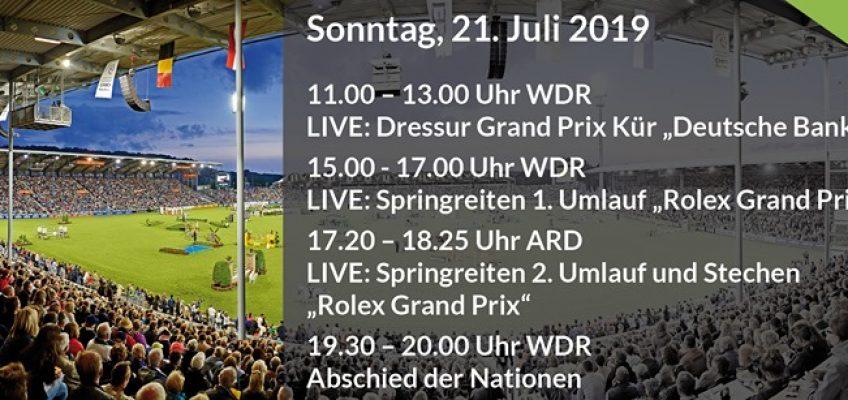 Kein Rolex Grand Prix für Eckermann und Weishaupt!