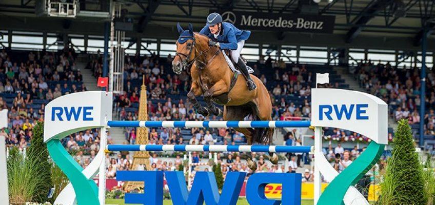 Serien-Sieger Daniel Deusser holt sich RWE Preis von Nordrhein-Westfalen