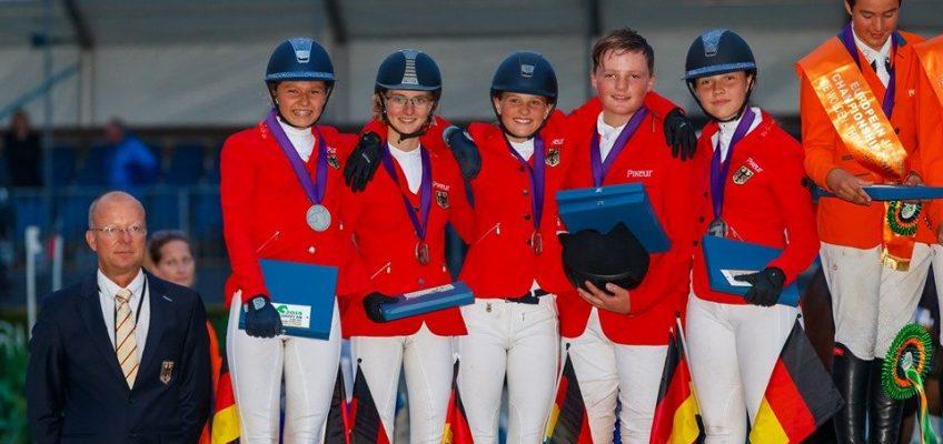 Nachwuchs-EM: Deutsche Children gewinnen Silber