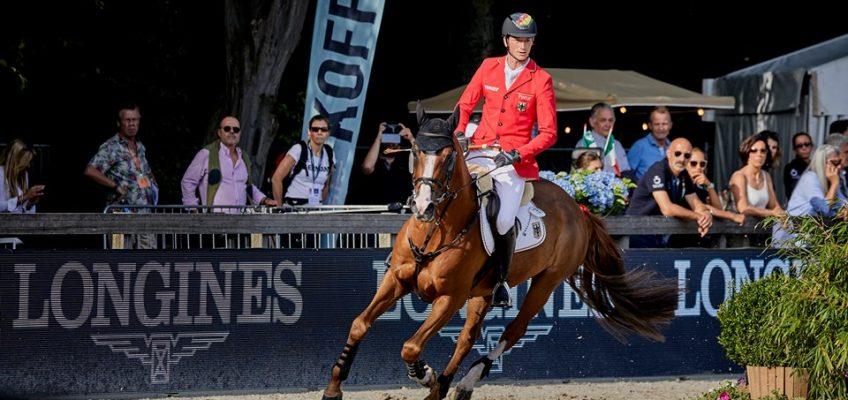 EM Rotterdam: Blum, Deusser und Ehning kämpfen um Medaillen im Einzel-Finale