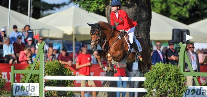 EM-Pony Springen: Deutschland auf Rang vier im Nationenpreis