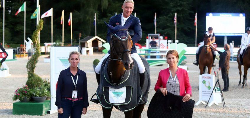 Mario Stevens gewinnt in Lastrup Donnerstag-Hauptspringen