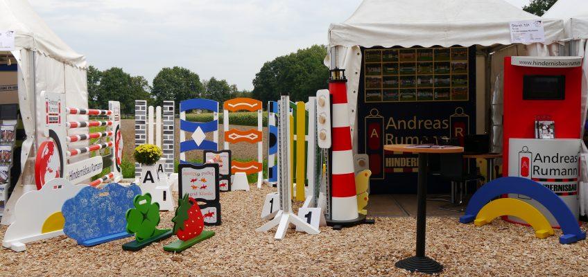 Hindernisbau Rumann auf den Bundeschampionaten in Warendorf
