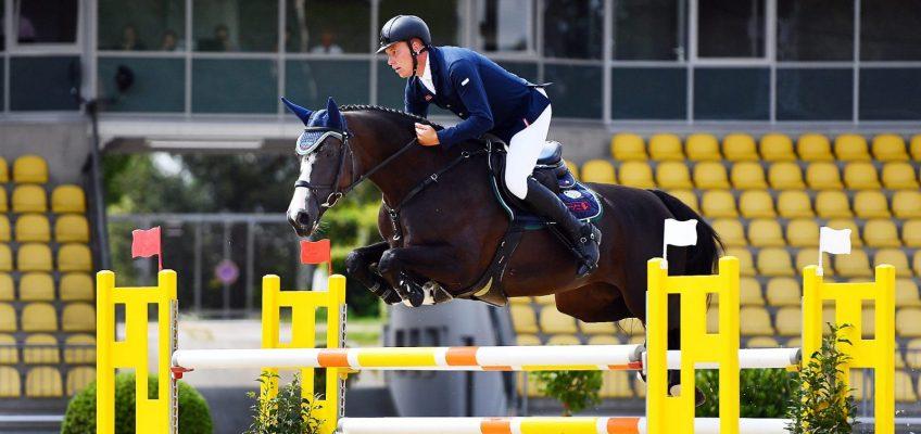 Mario Stevens siegt mit Pferd aus eigener Zucht in Verden