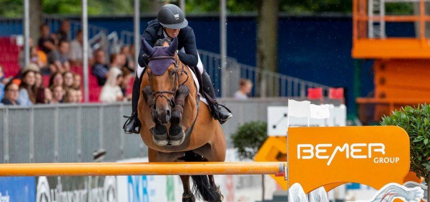 Charlotte Bettendorf gewinnt in Münster auch den Großen Preis