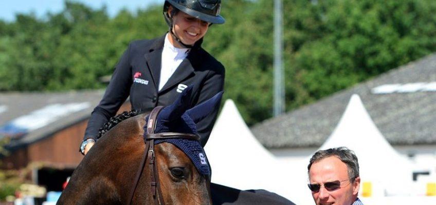 Kendra Claricia Brinkop gewinnt CSI3*-Springen in Zandhoven