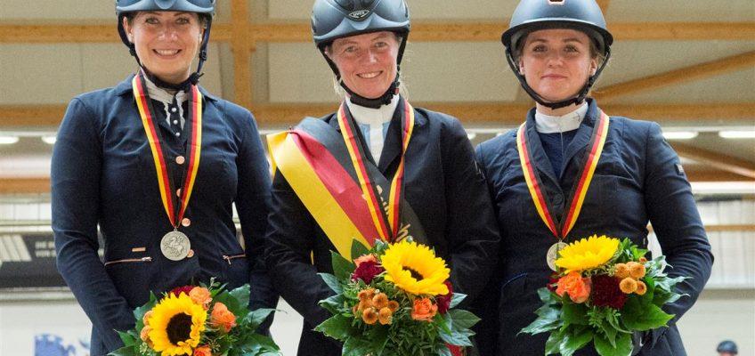 Anna Madlen Horn ist neue Deutsche Amateur-Meisterin im Springen!