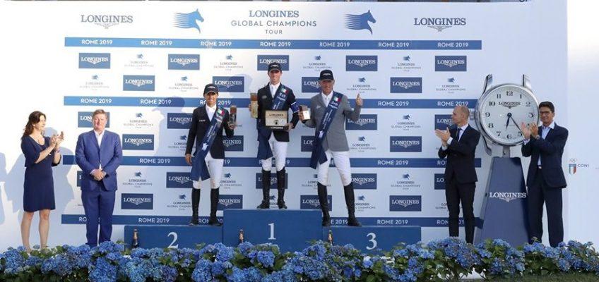 Drei Deutsche vorne beim Grand Prix von Rom