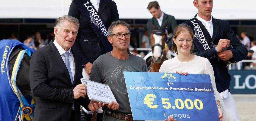 Lanaken: Katrin Eckermann holt mit Chao Lee Goldmedaille bei den Sechsjährigen!