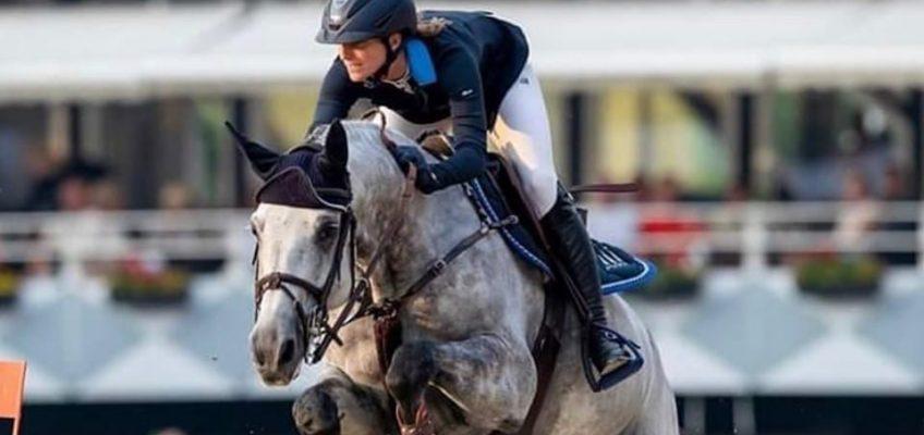 Neuer Pferdehänger für Simone Blum im Grand Prix von Ising