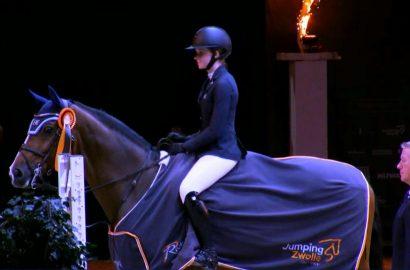 Sophie Hinners lässt im Stechen von Zwolle alle hinter sich
