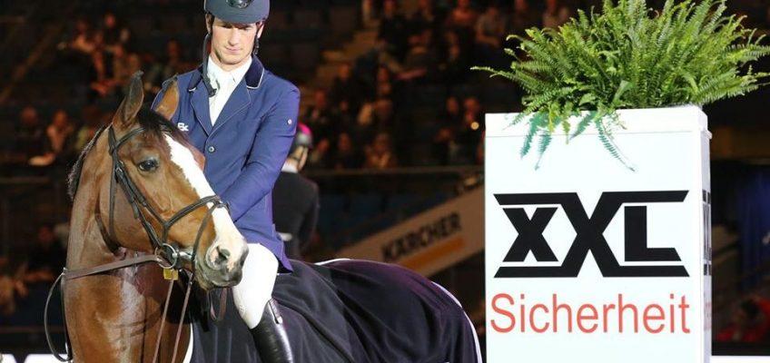 Daniel Deusser gewinnt die 1. Qualifikation zum Finalspringen des German Masters 2019