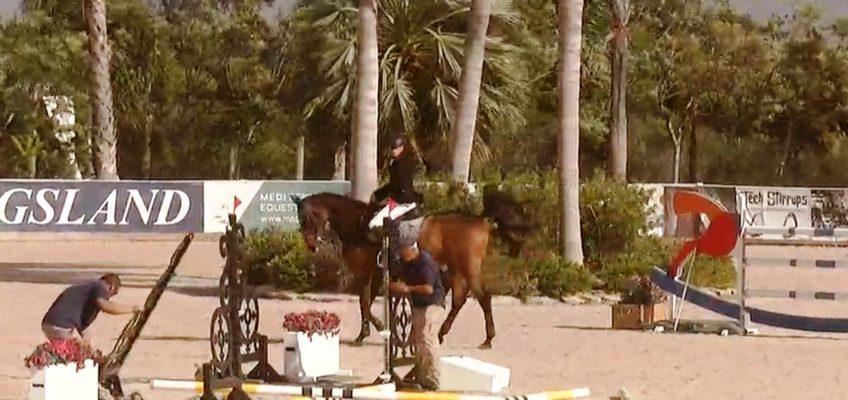 Grand Prix in Oliva Nova fast vom Winde verweht