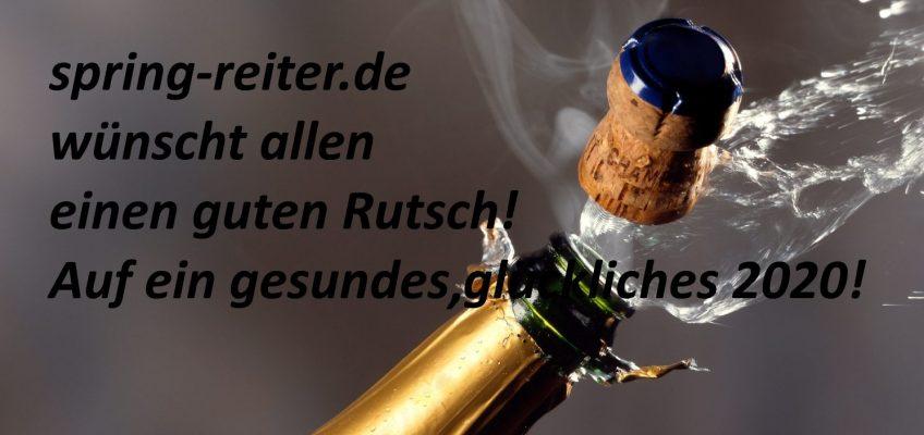 Auf ein gesundes, glückliches und erfolgreiches Neues Jahr!