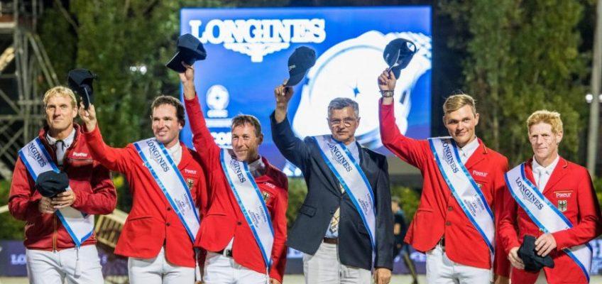 Saison für deutsche Nationenpreis Equipe startet in La Baule