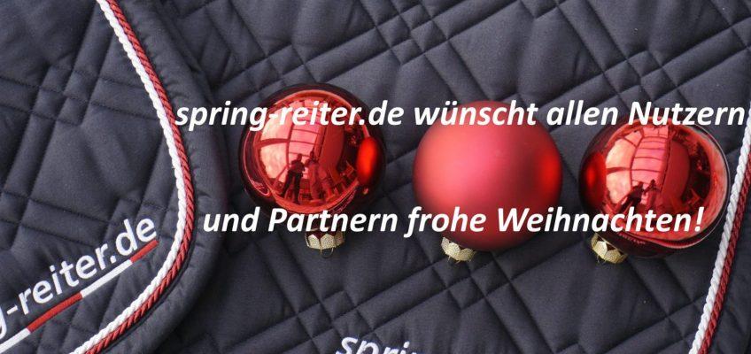 spring-reiter.de wünscht allen ein frohes Weihnachtsfest