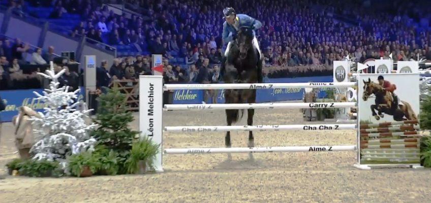 Punktlandung: Christian Ahlmann gewinnt Leon-Melchior-Springen