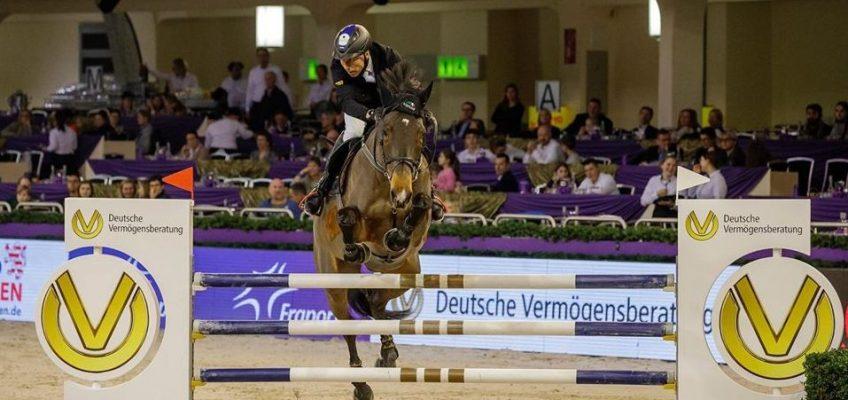 Hansi Dreher gewinnt Weltranglisten-Springen in Frankfurt