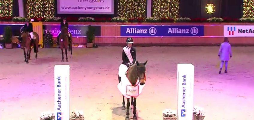 Mylen Kruse Junge Reiter Champion bei Aachen Youngstars