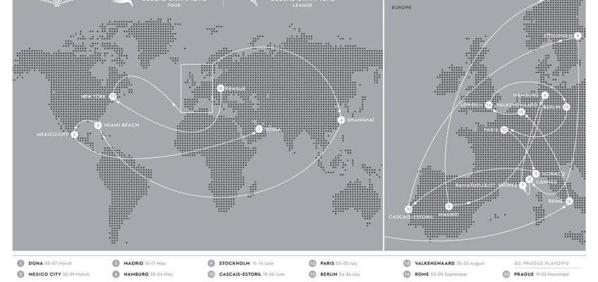 Longines Global Champions Tour: Der Kalender für 2020 steht!
