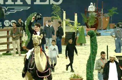 Christian Ahlmann bester Deutscher beim arabischen Derby