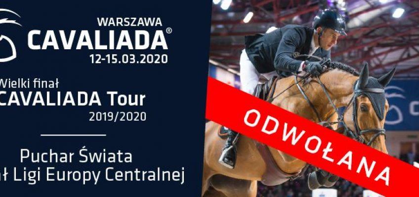 Coronavirus: CSI3* Weltcup-Turnier in Warschau abgesagt!