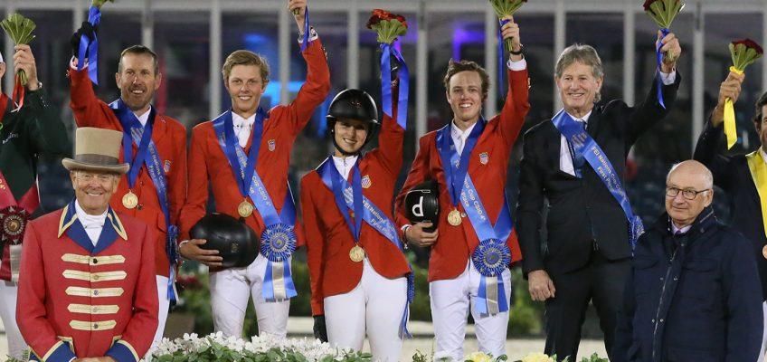 Junges US-Team dominiert den Nationenpreis in Florida