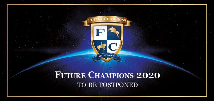 Future Champions in Hagen werden verschoben