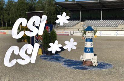Es geht voran: Erste CSI Turniere in Westergellersen!