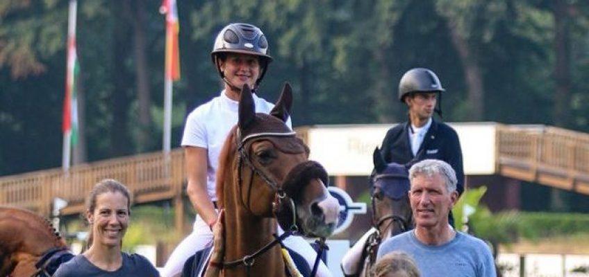 Katrin Eckermann gewinnt Finale der Mittleren Tour in Riesenbeck!