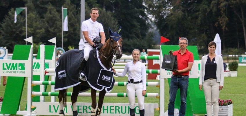 Felix Haßmanns nächste Siegesschleifen in Riesenbeck