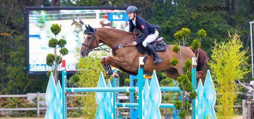 Junge Reiter 2. im Nationenpreis von Wierden + Sieg von Sönke Fallenberg