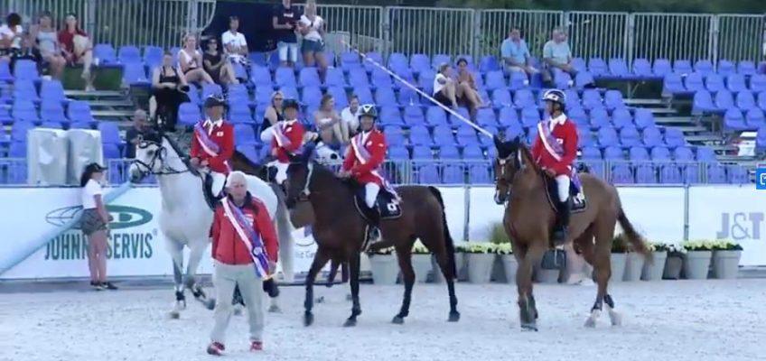 Deutsches Team schafft es im Nationenpreis von Prag auf Rang vier