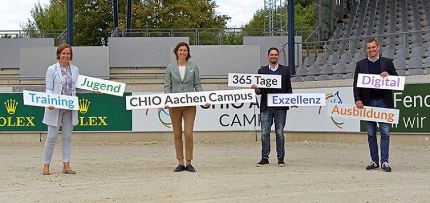 CHIO Aachen CAMPUS: Jugend, Ausbildung, Spitzensport, Training und Digital-Labor