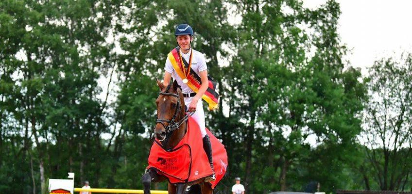 Holsteiner sammeln meiste Titel bei Jugendmeisterschaften in Riesenbeck