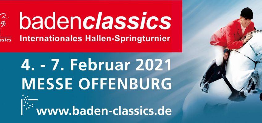 Auch BadenClassics für 2021 abgesagt!