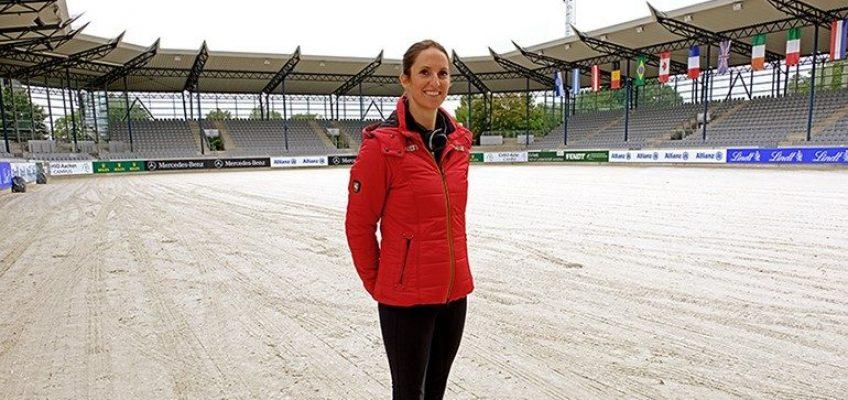 Aachen International Jumping: Alice hat einen Hexenschuß!