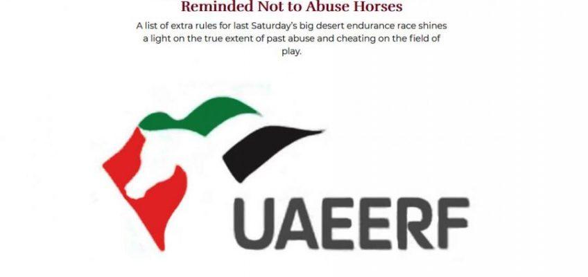 FEI reißt Geduldsfaden: Arabische Emirate auf Zeit suspendiert