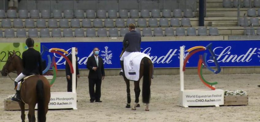 Richard Vogel gewinnt Eröffnungsspringen in Aachen
