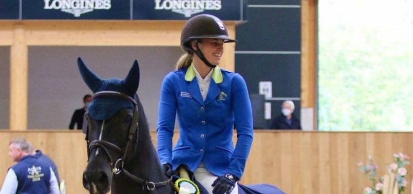 Angelique Rüsen gewinnt Große Tour in Riesenbeck!