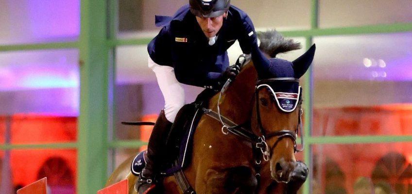 Hans-Dieter Dreher und Berlinda gewinnen auch Grand Prix in Chevenez!