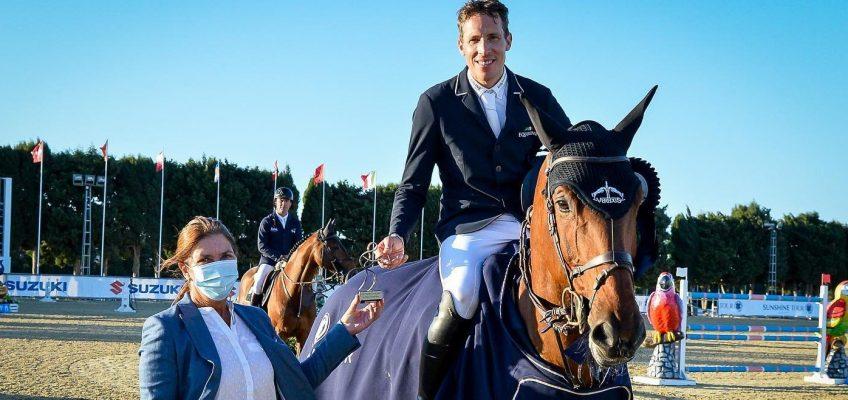Henrik von Eckermann holt sich Grand Prix der Sunshine Tour